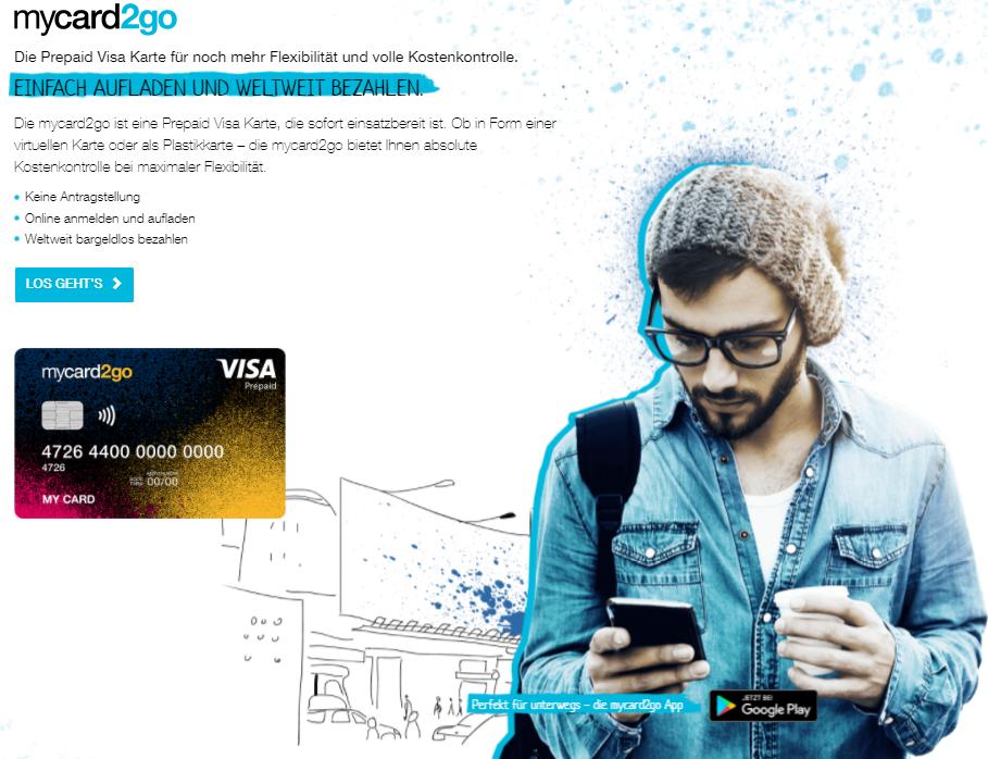 Visa Mycard2go